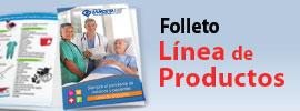 PDF con Folleto de Línea de Productos