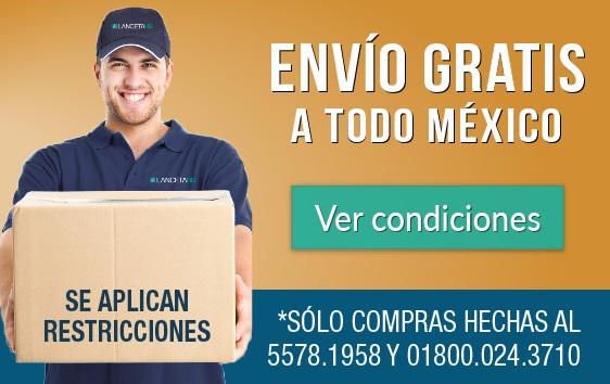 Envíos gratis a toda la República Mexicana