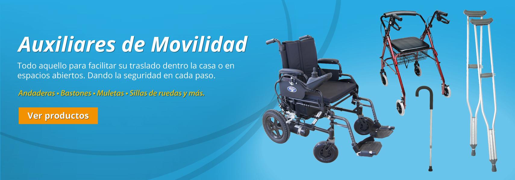 Productos Auxiliares de Movilidad